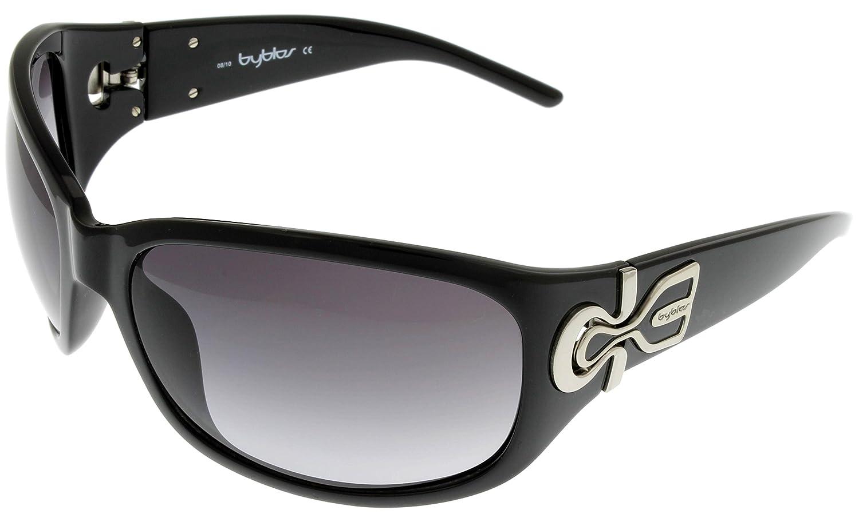cc4a92d01d27 Amazon.com  Byblos Womens Sunglasses BY528 01 Black Wrap  Clothing