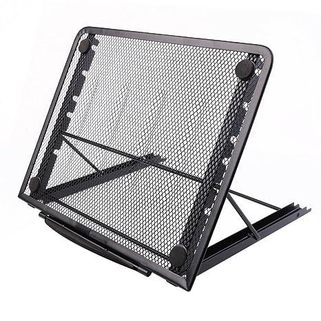Soporte para portátil o monitor, diseño ajustable y con ventilació