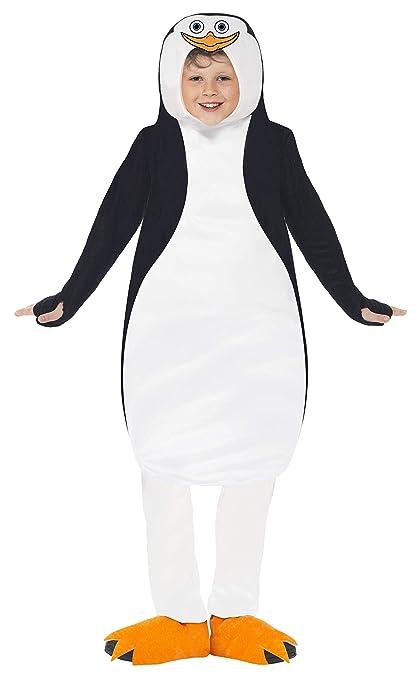 Smiffys - Traje de Pingüino, color negro y blanco (20492M ...