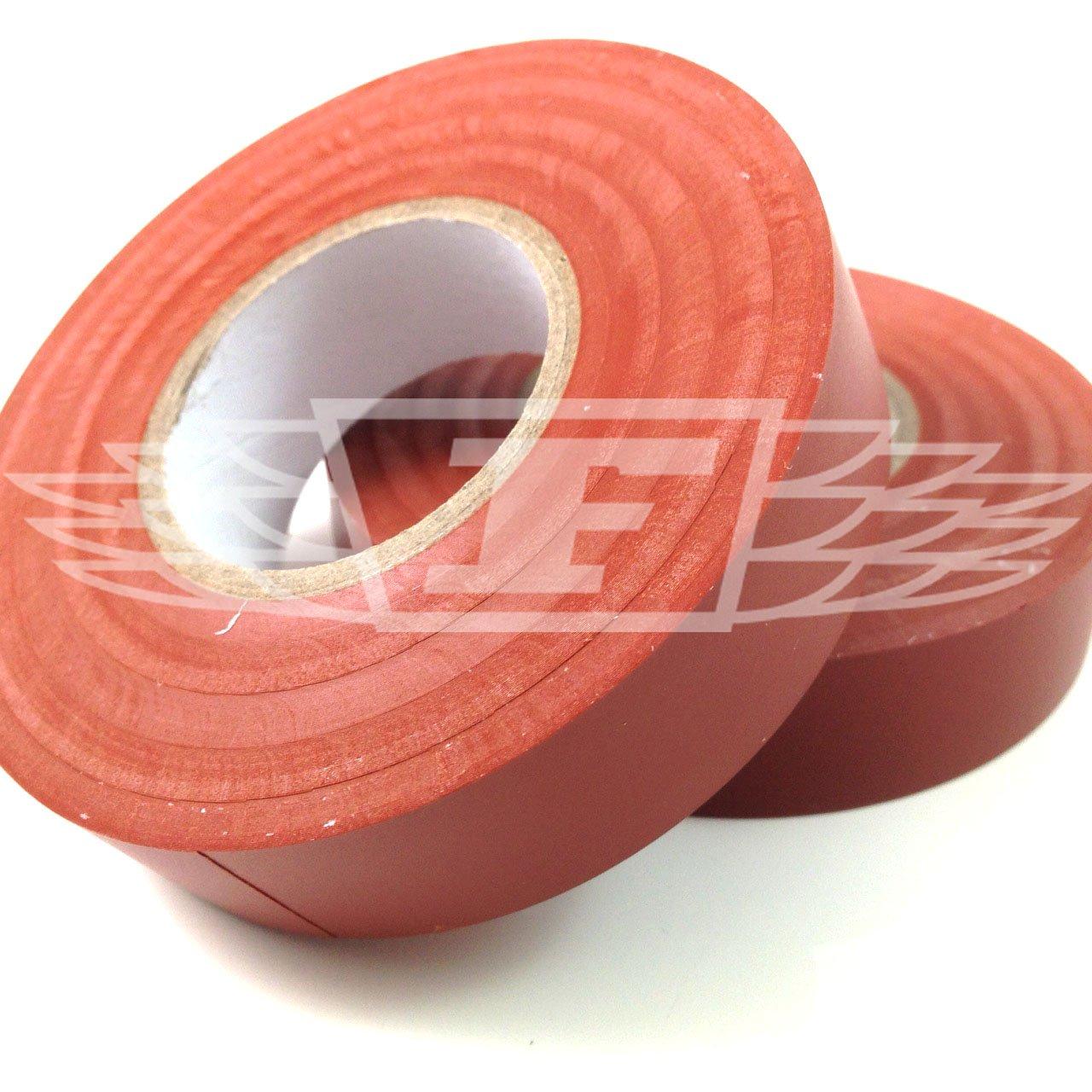 YELLOW 33 Metres Pack of 1 JUMBO ROLL ELECTRICAL PVC INSULATION // INSULATING TAPE FLAME RETARDANT