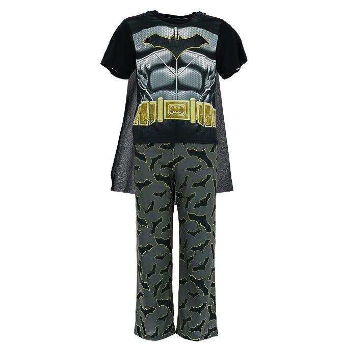 Amazon.com  DC Comics Boy s Batman Pajama Set with Cape ee6b4c8c0