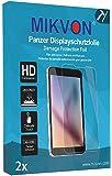 2x Mikvon Film blindé film de protection d'écran pour Garmin vivosmart HR+ - Emballage d'origine et accessoires (intentionnellement plus petit comme l'écran, parce qu'il est arqué)