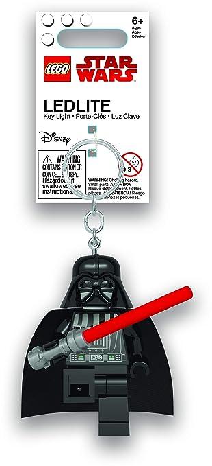 Amazon.com: LEGO Star Wars Darth Vader - Llavero con luz de ...