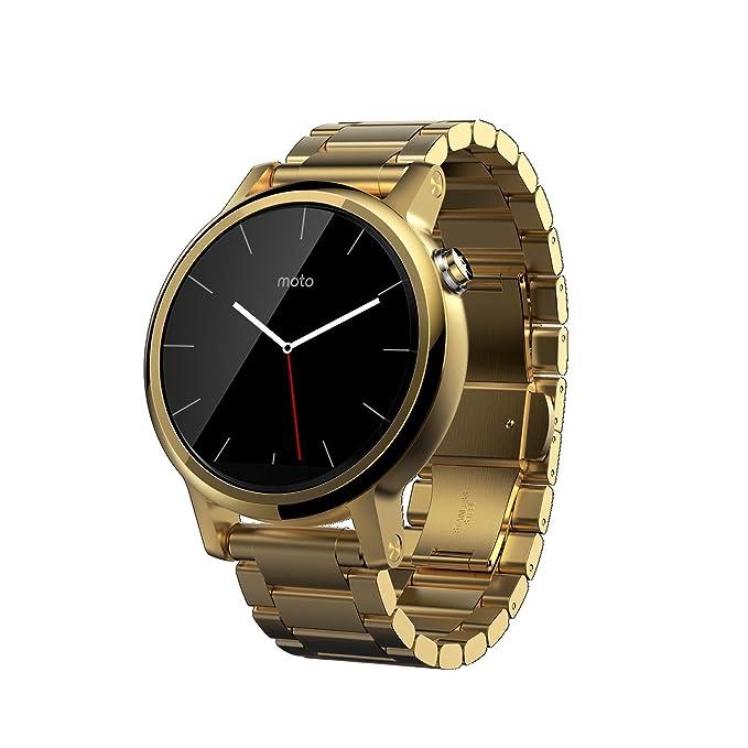motorola Moto 360 2Gen Reloj Inteligente Oro LCD 3,48 cm (1.37