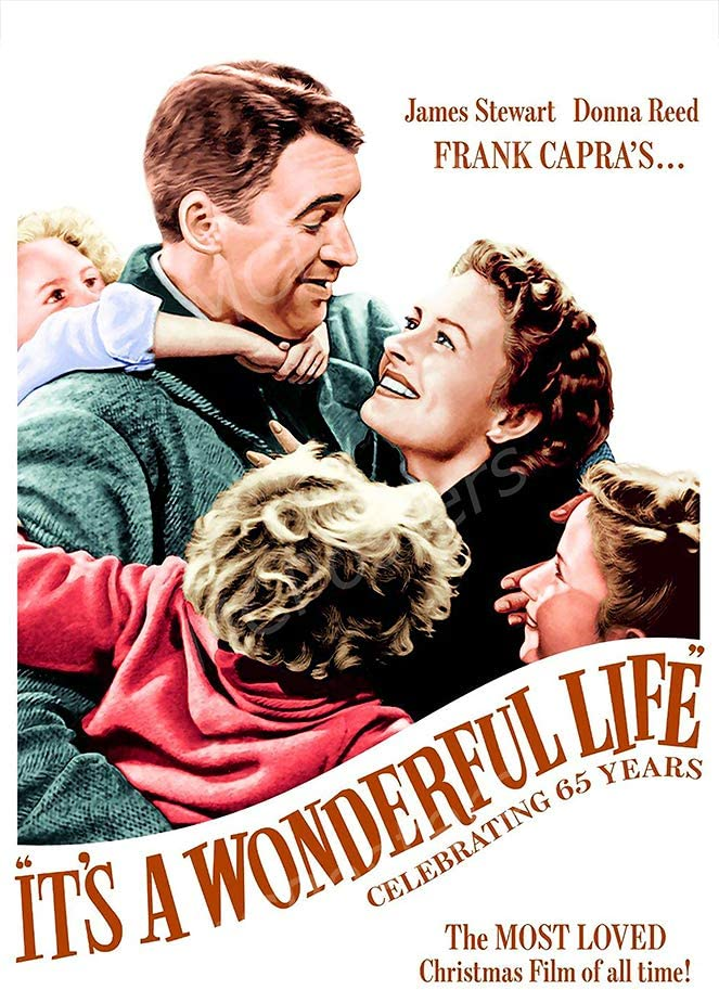 MCPosters - It's A Wonderful Life Glossy Finish Movie Poster - MCP596 (24