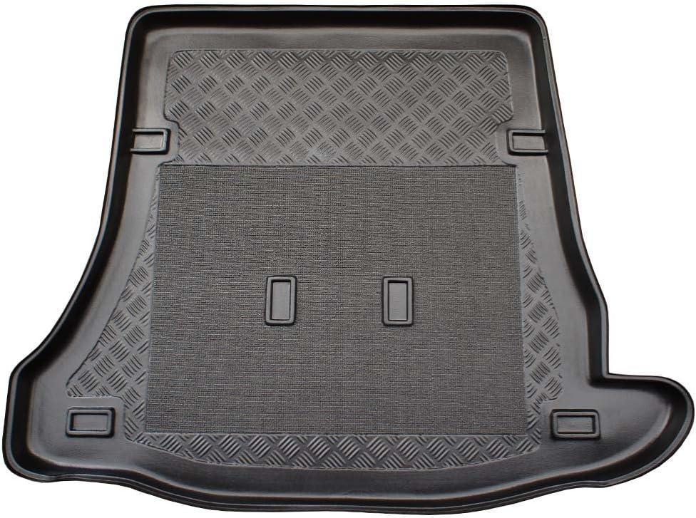 X /& Z PPH Vasca baule in gomma premium per Tourneo Custom L2 Facelift a partire dallanno di costruzione 02.2018 antiscivolo