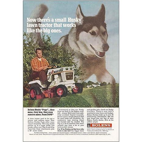 Amazon.com: 1971 Bolens Tractor cortacésped: Husky, Bolens ...