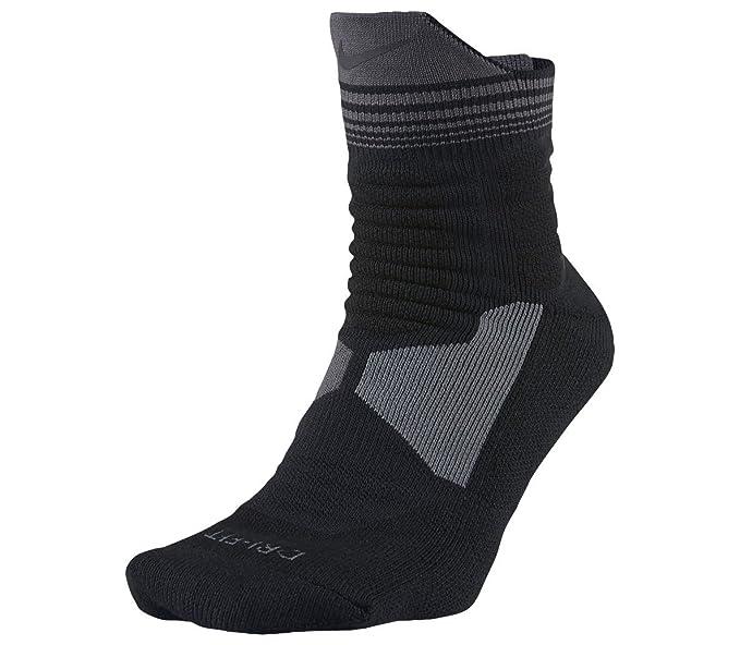 Nike Mens Hyper Elite High-Quarter Cushioned Socks at Amazon Mens ...