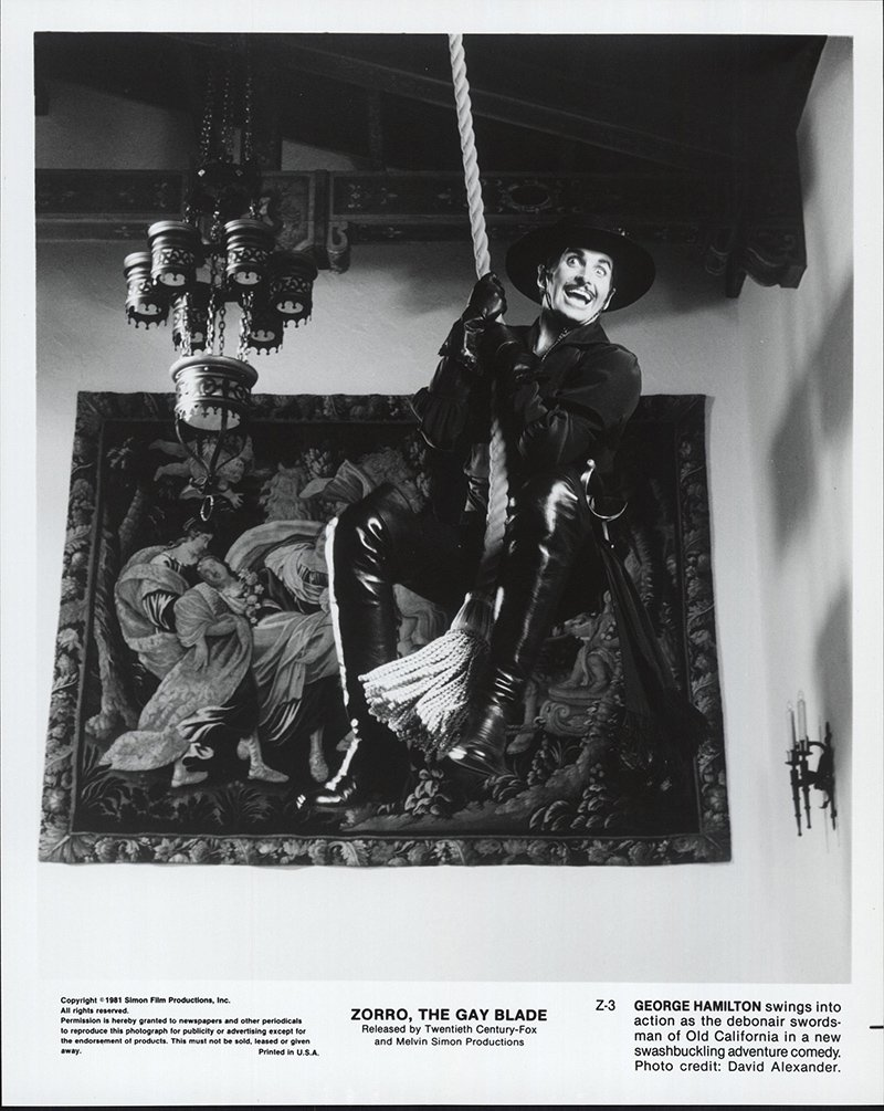 Still Pictures Are All Very Fine And >> The Zorro Gay Blade 1981 Authentic 8 X 10 Original Movie Still