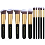 Amazon Price History for:BS-MALL(TM) Makeup Brushes Premium Makeup Brush Set Synthetic Kabuki Cosmetics Foundation Blending Blush Eyeliner Face Powder Brush Makeup Brush Kit (10pcs, Golden Black)