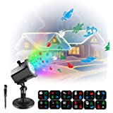 Samuyang Projector Night Light-Christmas Projector Lights Outdoor for Indoor Holiday Night