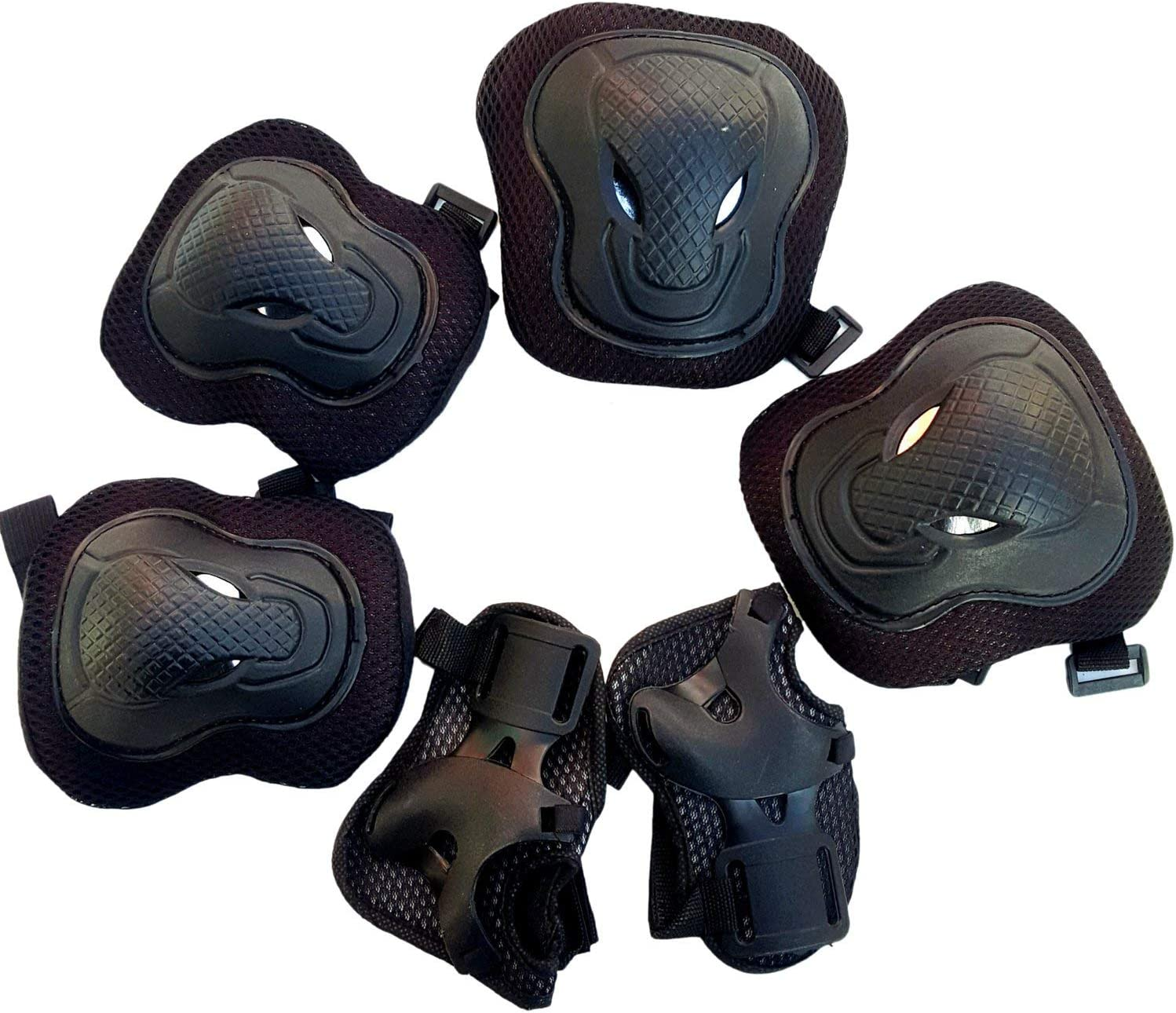 YeBetter Guard Knee Pads and Elbow Pads Support Safety Protective Pads Set for Adult Skate Protective Gear