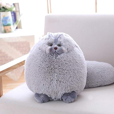JEWH Fun Plush Fluffy Cats - Persian Cat Toys - Pembroke Pillow - Soft Stuffed Animal