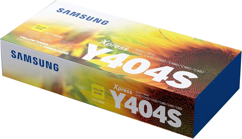Samsung Clt Y404s Gelb Original Toner Bürobedarf Schreibwaren