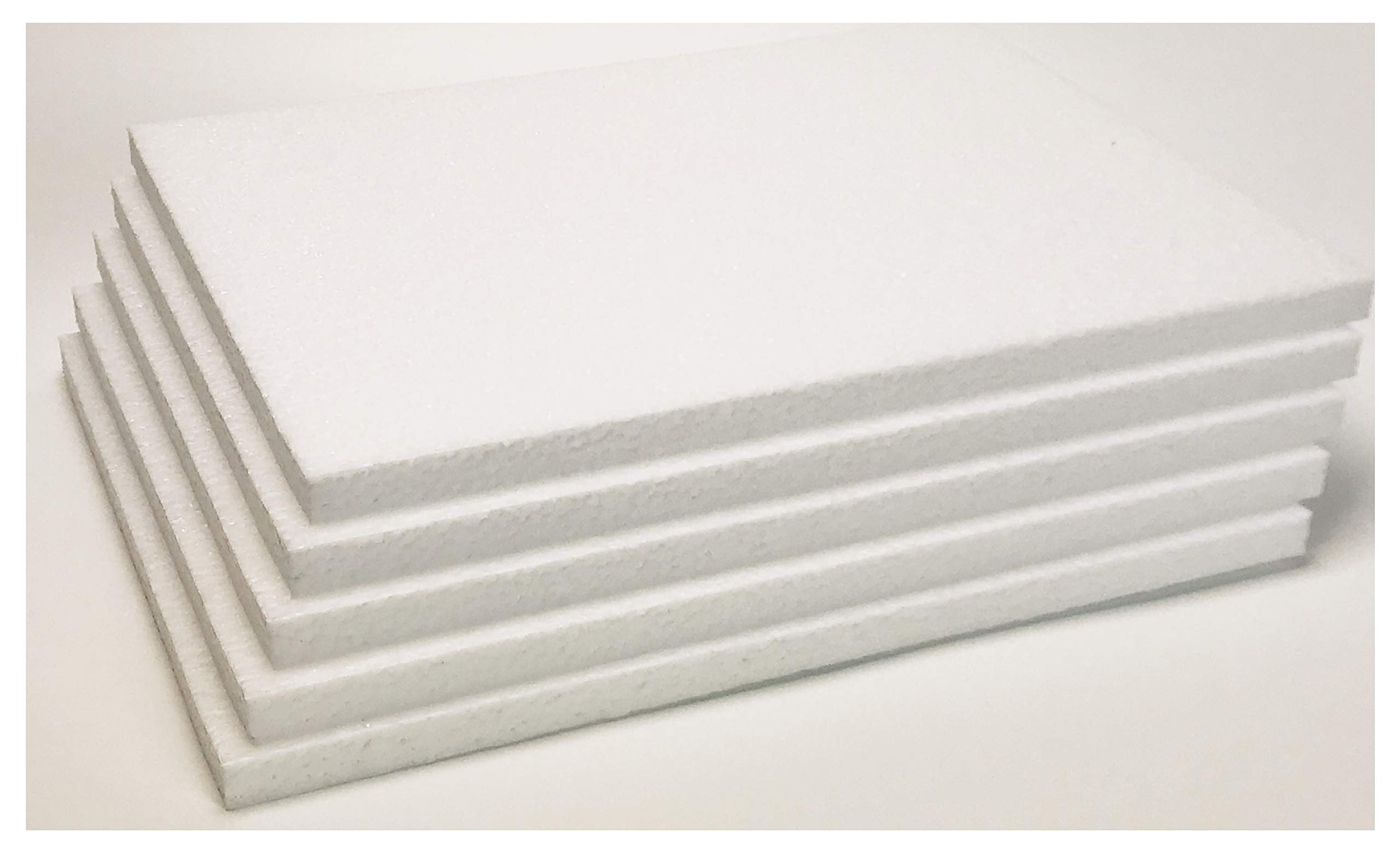 Styrofoam Sheets (8 1/2 X 11 X 1/4 inches) - White (Lot of 100) by Master451 (Image #3)