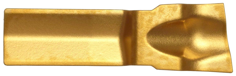 Sandvik Coromant Q-Cut 151.2 Carbide Parting Insert Multi-Layer Coating GC235 Grade 0.0039 Corner Radius Pack of 10 R151.2-300 05-5F 5F Chipbreaker 30 Insert Seat Size 1 Cutting Edge