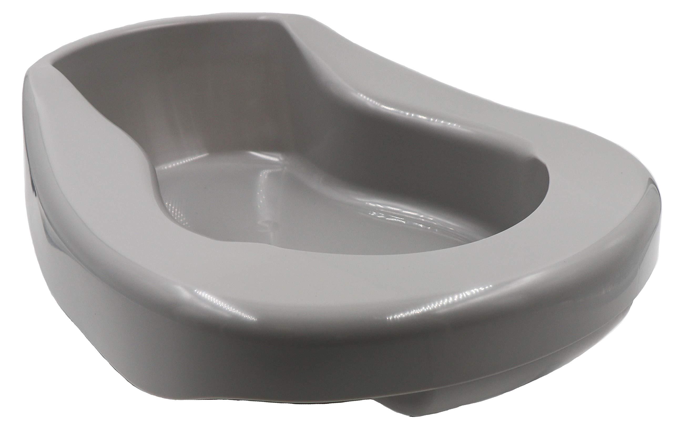 Healthstar Pontoon Bedpan, 2 Quart, Gray