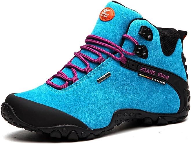 XIANG GUAN Femme Suède Imperméable Outdoor Sport Chaussures