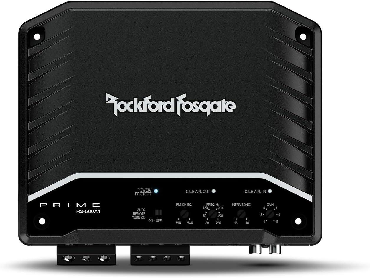 Rockford Fosgate R2-500X1 500-Watt Mono Amplifier