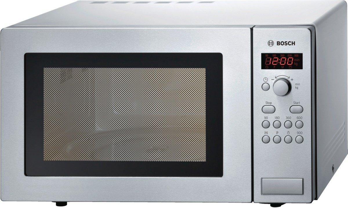Bosch HMT84M451 Stainless Steel Series 4 Microwave, 25 Litre [Energy Class A] BSH Home Appliances Ltd