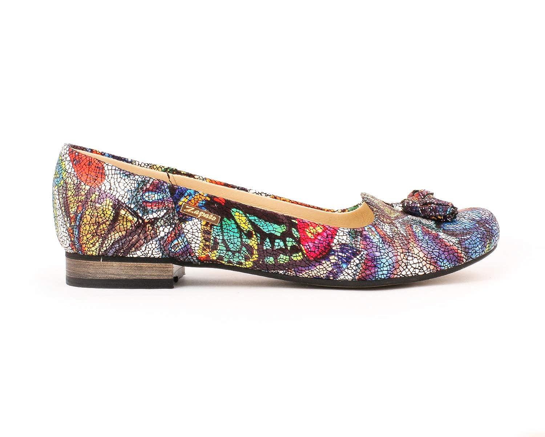 Zapato 009 Damen Ballett Mehrfarbig - Mehrfarbig - Größe  38