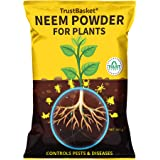 TrustBasket Neem Cake Powder Organic Fertilizer and Pest Repellent for Plants (450 GMS)