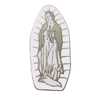 amazon com virgin maria guadalupe virgen maria christening baptism