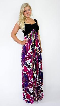 100% authentic 00116 0dd94 MontyQ Wiener Empire Stil Sommer - Abendkleid Elegantes ...
