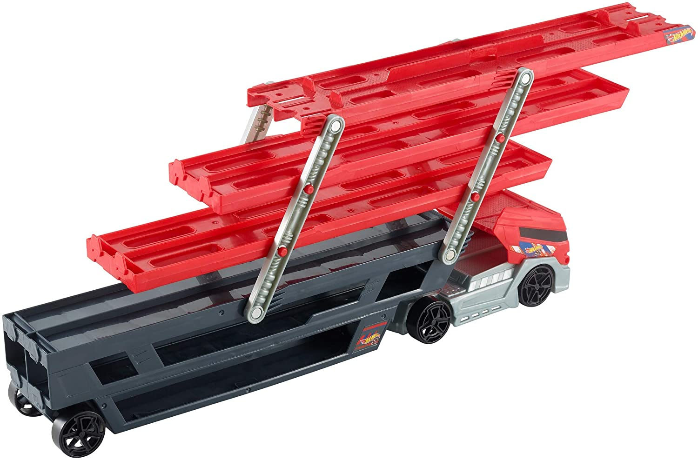 0271605383d Amazon.com: Hot Wheels Mega Hauler Truck [Amazon Exclusive]: Toys & Games