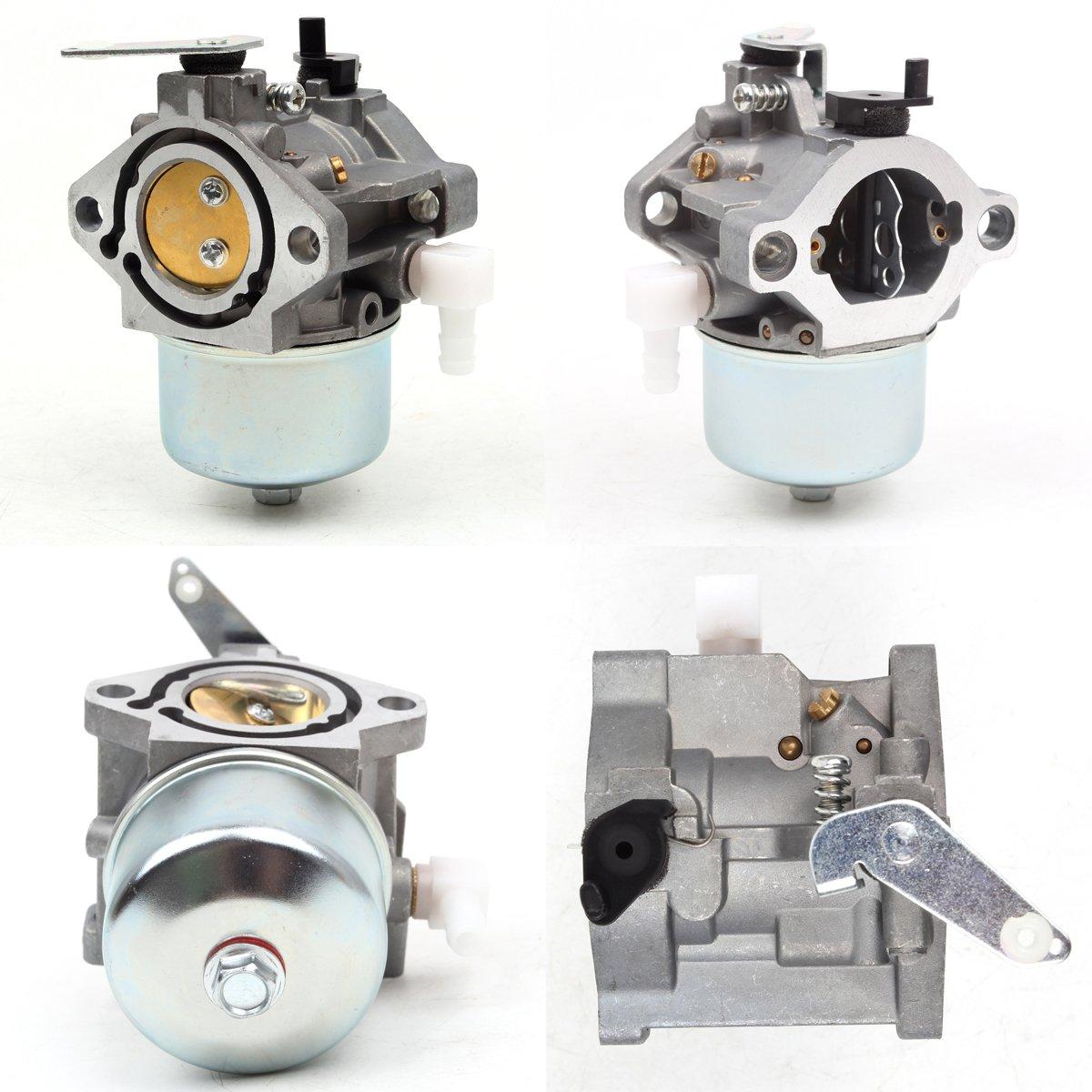 Wingsmoto Carburetor 690119 694526 690115 690111 fit Generator with Briggs /& Stratton 10HP Engine Gererac PowerBoss 5500 Coleman Powermate 5500