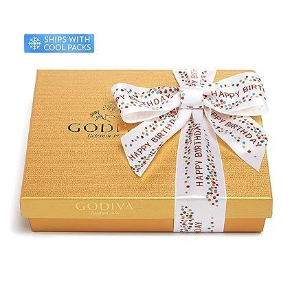 Godiva Chocolatier - Juego de regalo de cumpleaños: Amazon ...