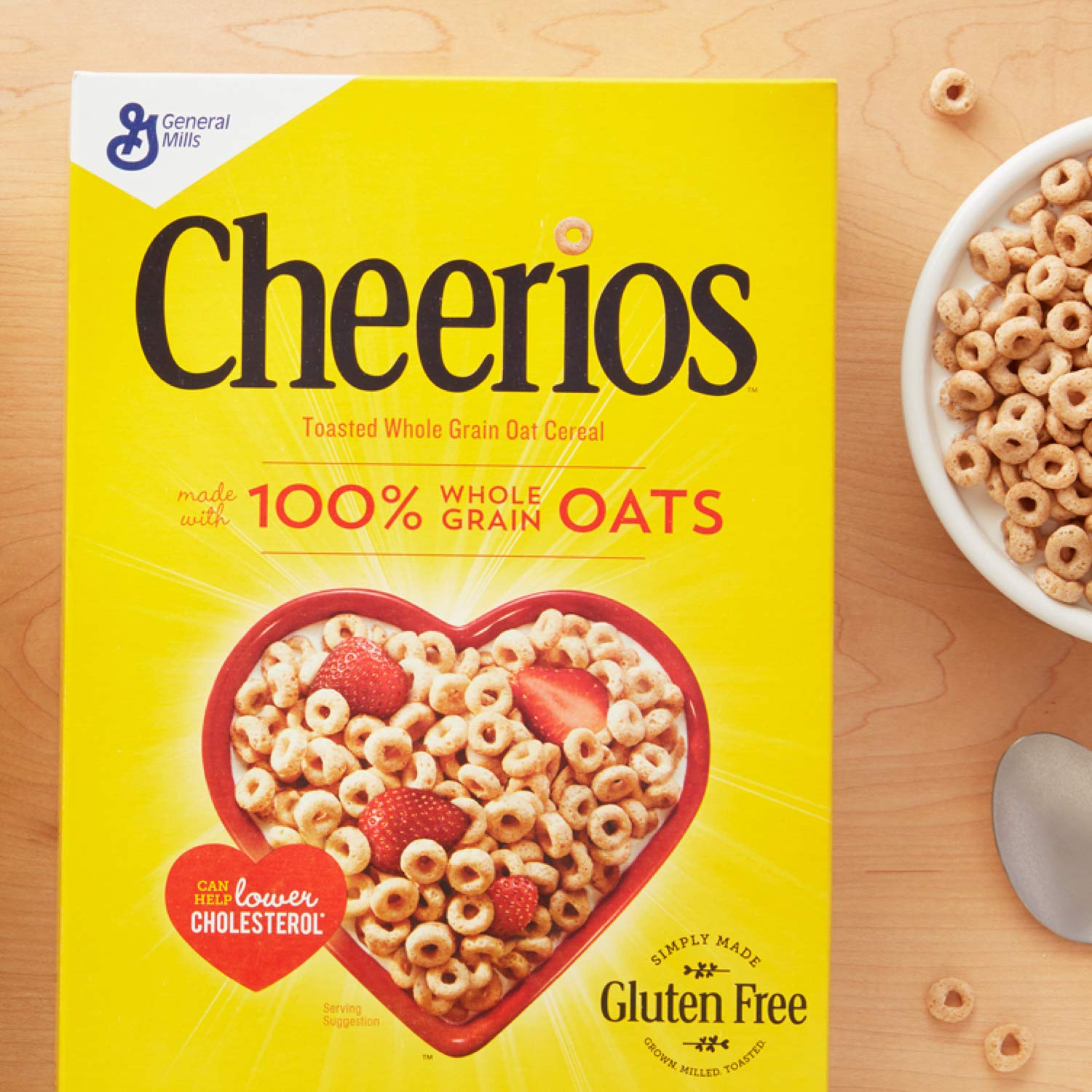 Amazon.com: Cheerios Cereal sin gluten, 21 oz: Prime Pantry