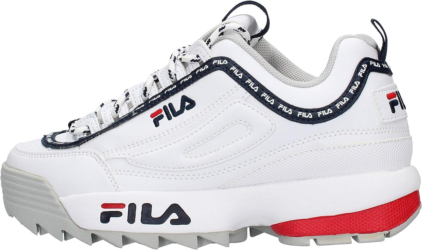 Fila Disruptor Logo Sneaker Bianca