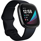 Fitbit Sense Advanced Smartwatch with Tools for Heart Health, Stress Management & Skin Temperature Trends, Carbon/Graphite, O