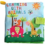 Forberesten Non-toxic Soft Fabric Cloth Early Education Book for Kids - Perfect for Baby Shower