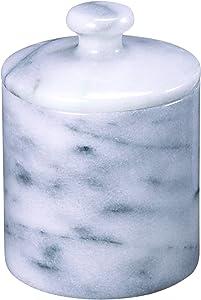 Creative Home White Marble SPA Cotton Ball Holder