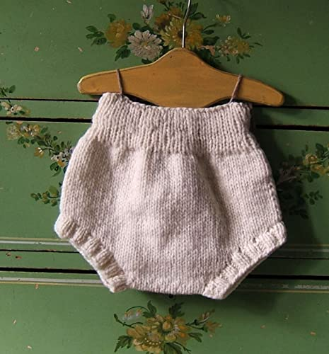 Amazon Newborn Wool Soaker Hand Knit Cloth Diaper Cover Handmade