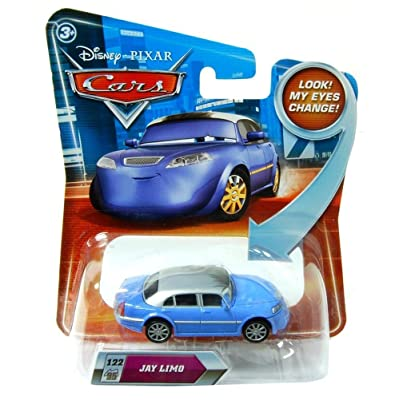 Disney / Pixar CARS Movie 155 Die Cast Car with Lenticular Eyes Series 2 Jay Limo: Toys & Games