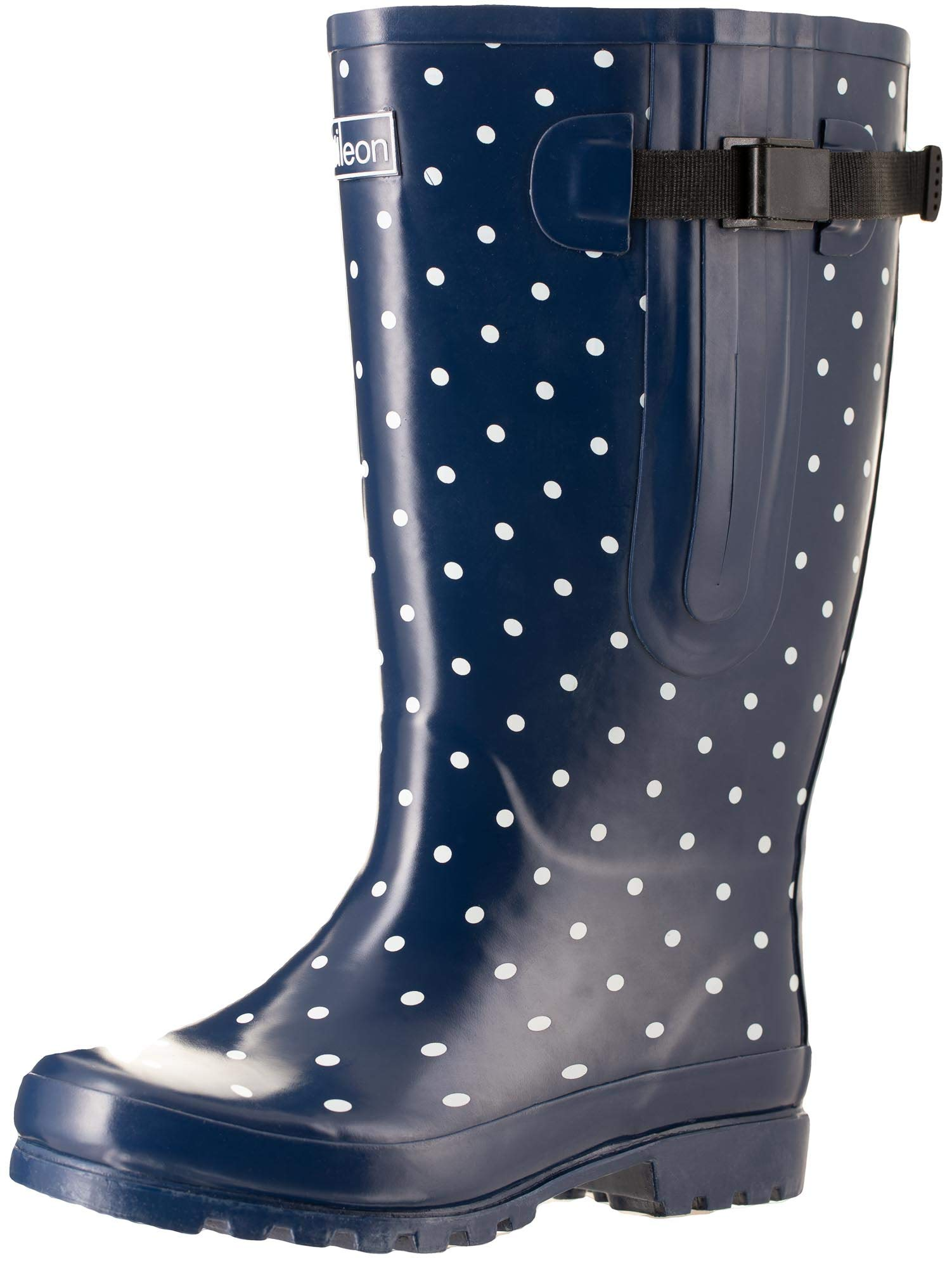 StormWells Ladies Wide Calf Wellies Wellington Boots Plus Extra Comfort Memory 7