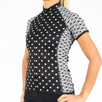 d27579956 Canari Cyclewear Women s Dolce Diamond Dots Short Sleeve Cycling Jersey -  22254 (Diamond Dots-