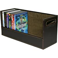Stock Your Home DVD Storage Box with Powerful Magnetic Opening - DVD Tray Holds 28 DVD BluRay PS4 Video Games for Media…