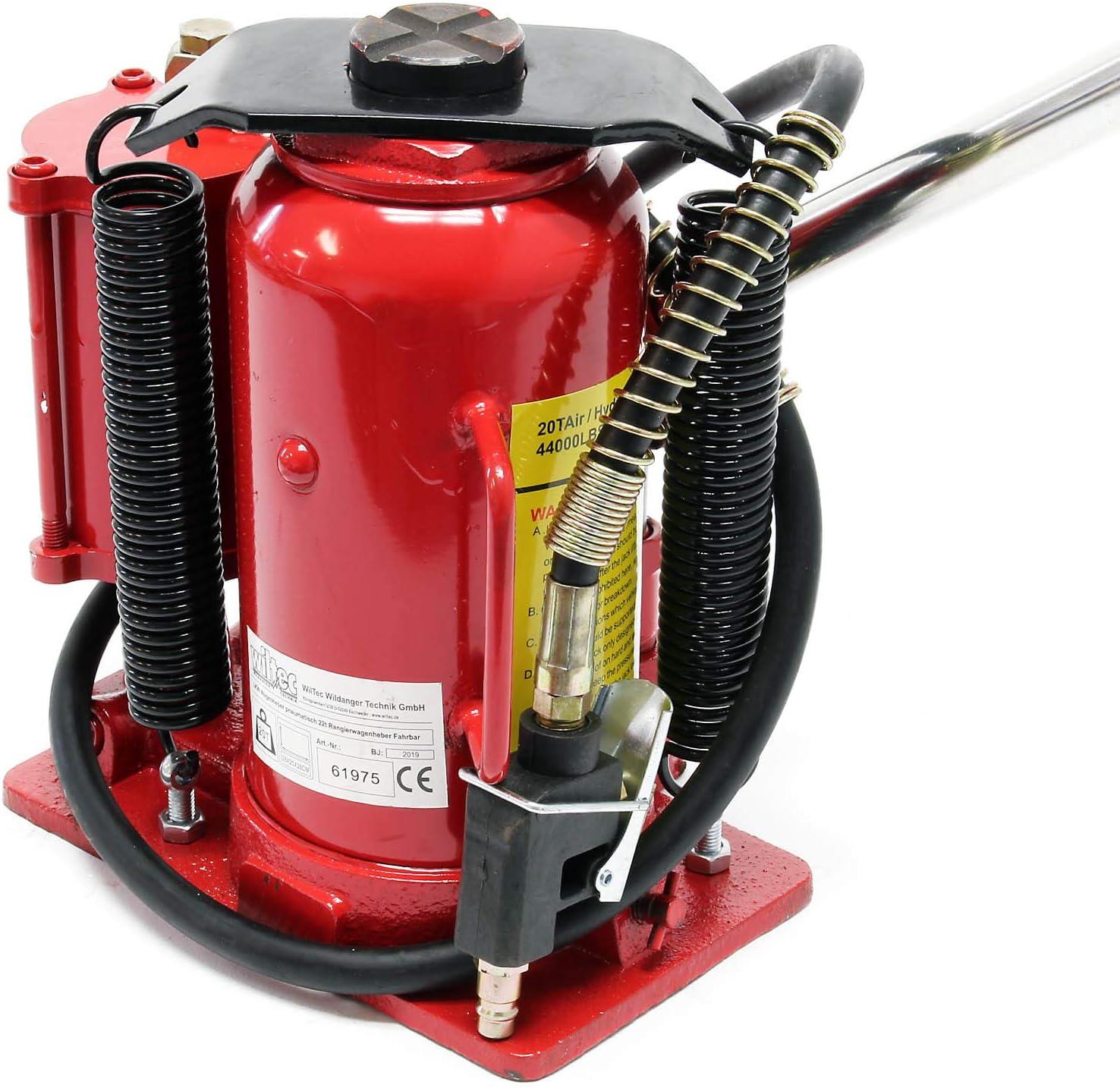 Gato hidr/áulico 20T Elevador de coche Gato de botella Taller mec/ánico Garaje Accesorios veh/ículos