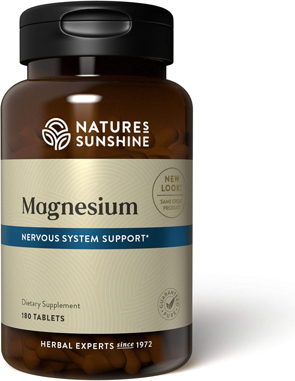 Nature's Sunshine Magnesium 250mg, 180 Tablets