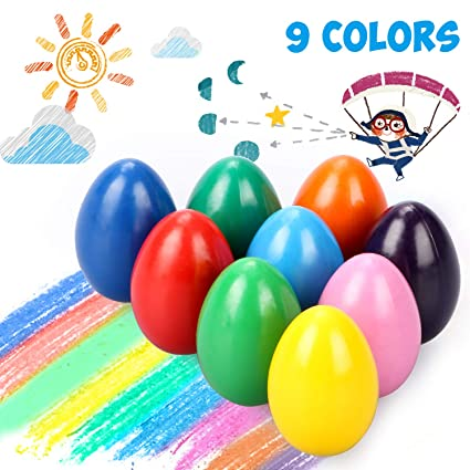 Egg Shaped Crayons
