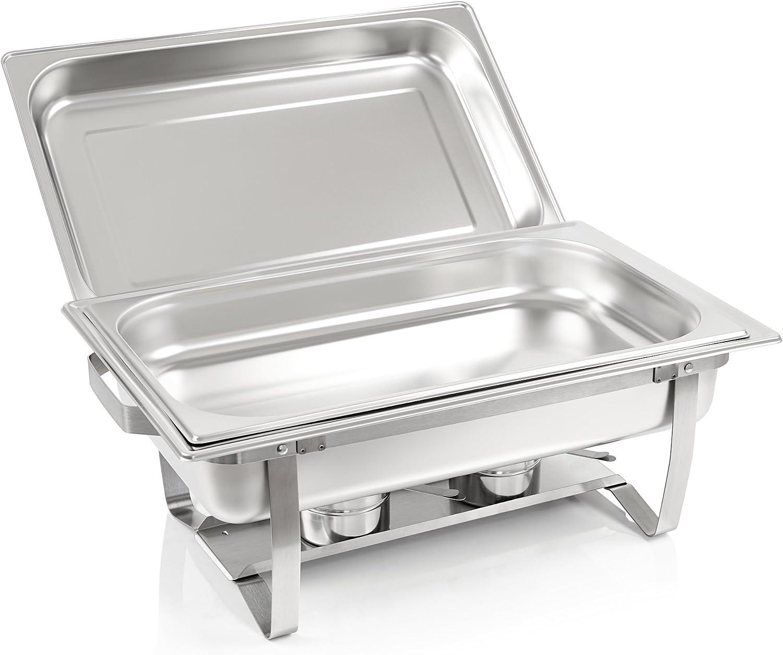 Zelsius elektrischer Chafing Dish für GN 1//1 Speisenwärmer Wasserbad 9L Buffet