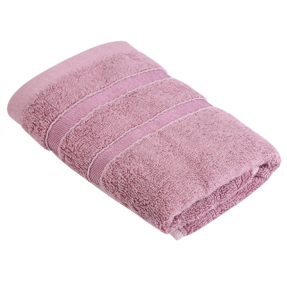 Bamboo Fiber Hand Towel Big Super Absorbent Washclothes Soft Face Towel 32.5 x 72.5cm(Grey) Aramox