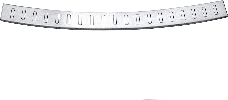 Aroba AR1109-BR Edelstahl Geb/ürstet Ladekantenschutz kompatibel f/ür Sharan ab BJ 08.2010 passgenau mit Abkantung Farbe Silber