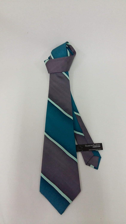 Corbata de seda- Corbata rayas- corbata elegante- Corbata original ...