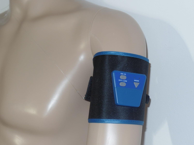 Designed Um an Den Meisten K/öperstellen benutzt zu Werden Icinger Power Leicher Elektrischer G/ürtel mit 2 Gro/ßen Elektroden