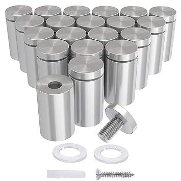 Amazon.com: LuckIn 20 unidades de tornillos de pie para ...